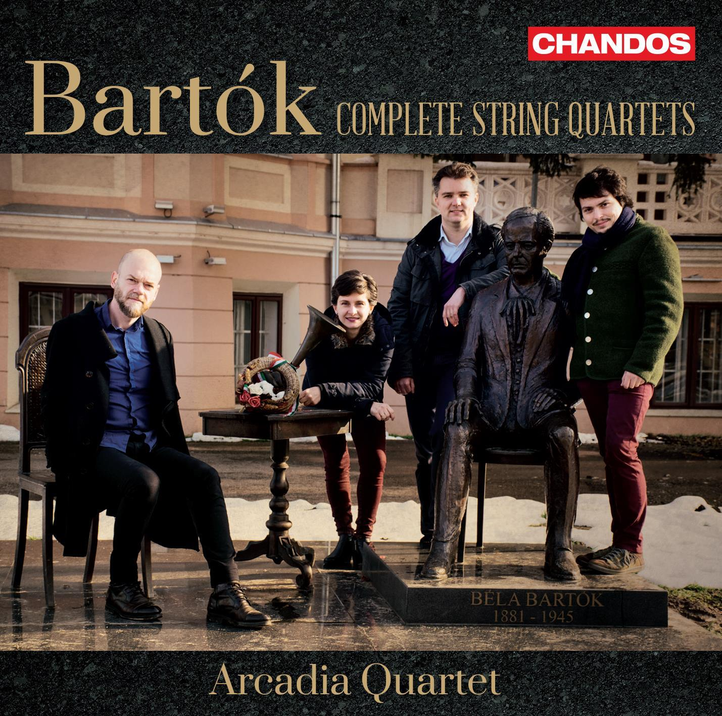 Our Bartók disk is out!
